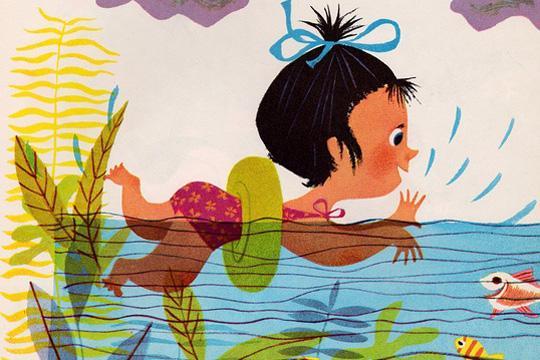孩子不怕水4步曲