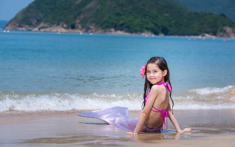 今個夏天,同寶寶一齊做美人魚!
