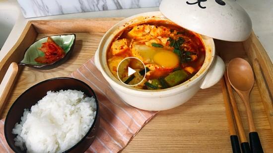 【Cooking TV】辣豆腐海鮮湯