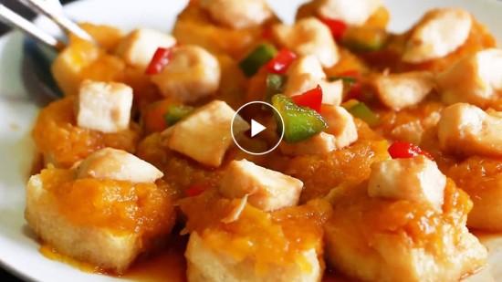 【Cooking TV】雞粒南瓜釀豆卜