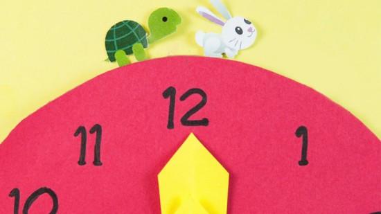 簡單學習時間觀念 用「龜兔賽跑」形象法!