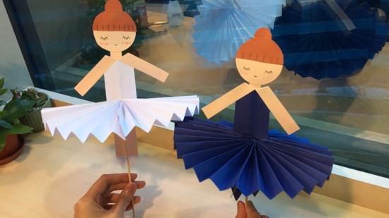 【親子手作】超療癒芭蕾舞娃娃